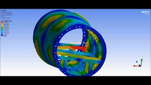 ANSYS MECHDAT file and 3D model for fuselage