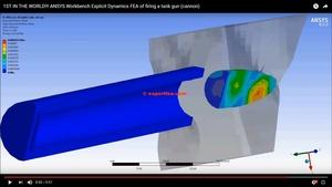 MECHDAT file and 3D model for tank gun