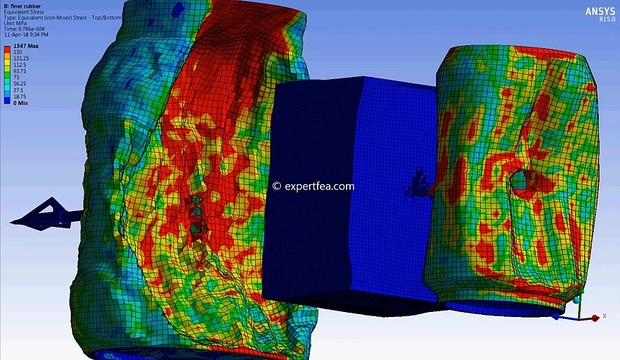 ANSYS WB 15 MECHDAT file and 3D model for crossbow bolt/ arrow