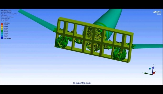 MECHDAT file and 3D model for airliner