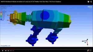 MECHDAT file and 3D model for AT-AT Walker from Star Wars: The Force Awakens