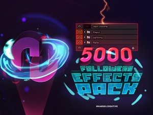 ♥ [FREE] Hansel 5k Followers; Effects Pack