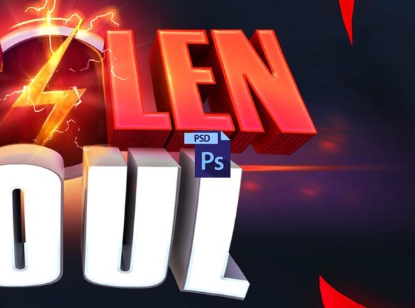 { PSD File } STOLENSOUL Minecraft Banner Process