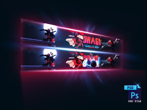 ♥ [PSD File] Dragiboom's Minecraft Banner Project