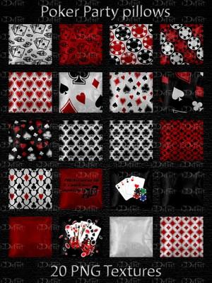 Poker Party Pillows