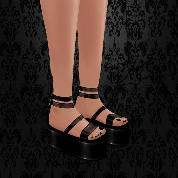 Pvc Sandals / PSD & PNG.