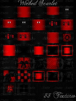 Wicked Scarlet Room Texture
