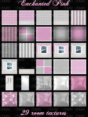 Enchanted Pink Room Texture