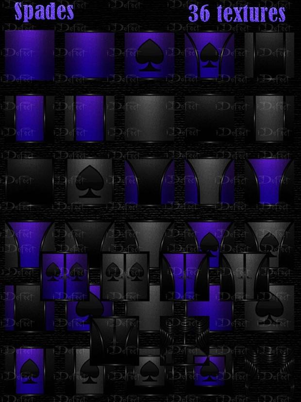 Spades Room Texture