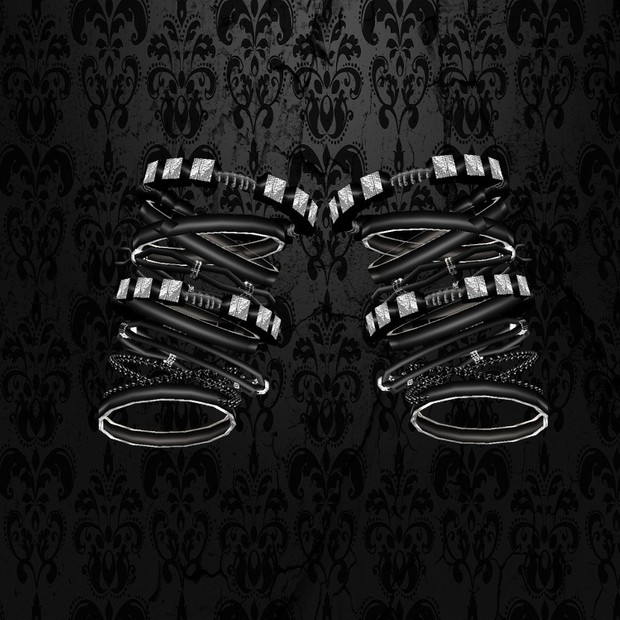Black/Silver Bracelet Male - W/Resell Rights
