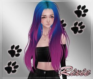 Kattiq Hair 20 Rainbow 1