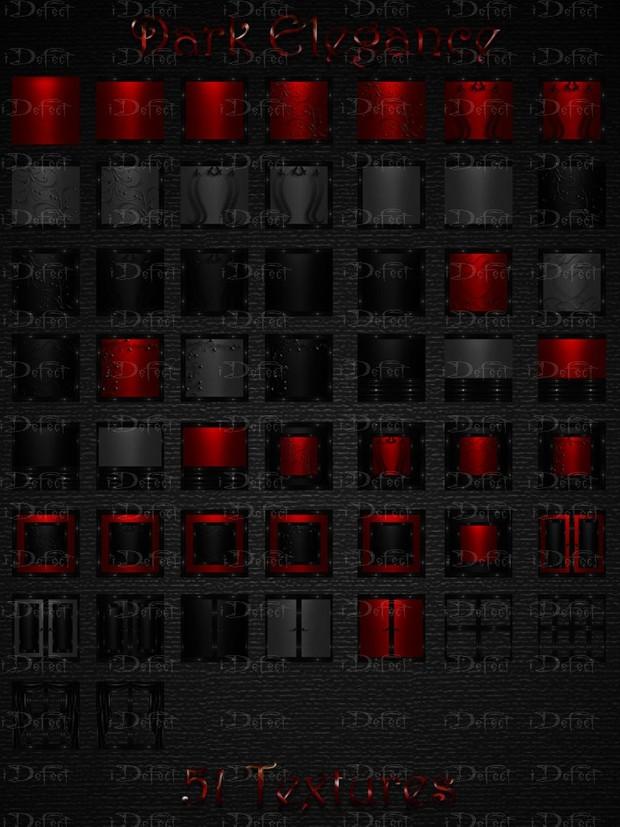 Dark Elegance Room Texture