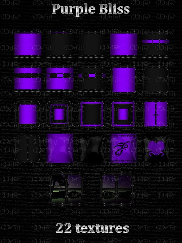 Purple Bliss Room Texture