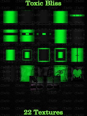 Toxic Bliss Room Texture