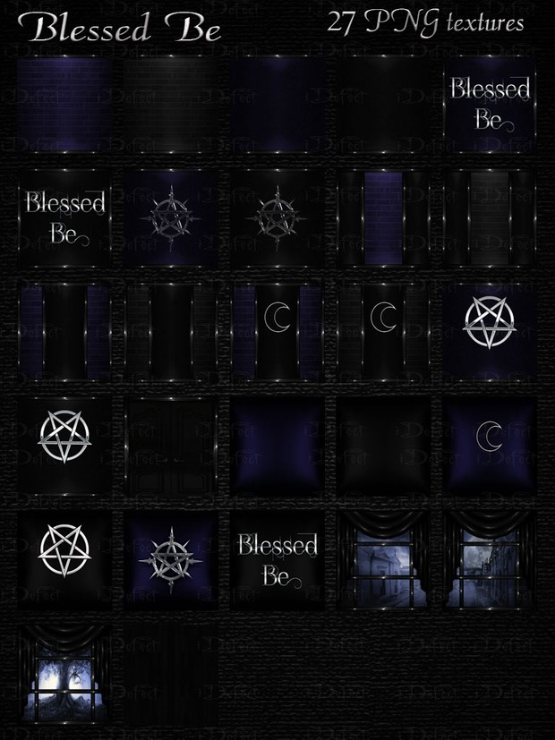Blessed Be Room Texture