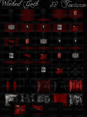 Wicked Goth Room Texture