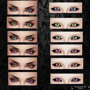 Eyes 03 / PNG.