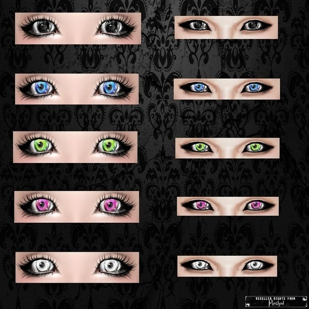 Eyes 04 / PSD & PNG.