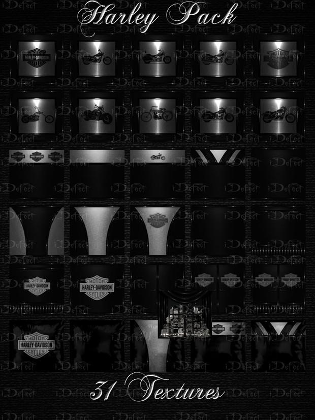 Harley Pack Room Texture