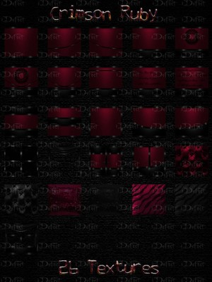 Crimson Ruby Room Texture
