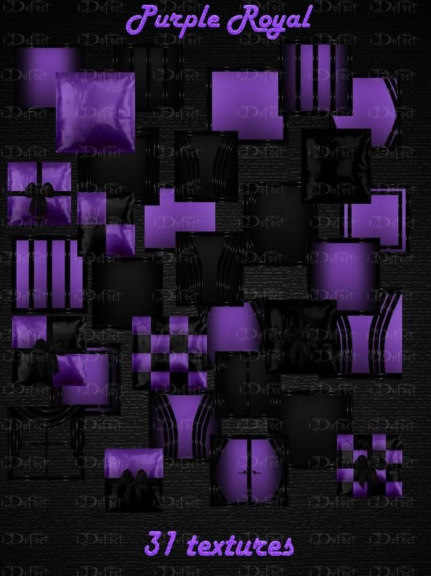 Purple Royal Room Texture