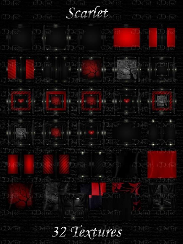Scarlet Room Texture