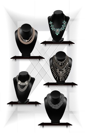 40 Gothic Necklaces