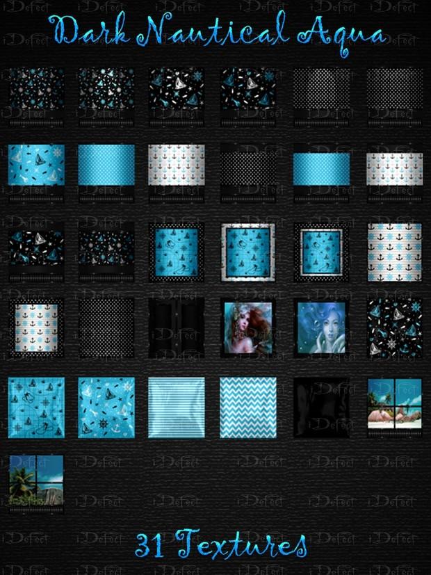 Dark Nautical-Aqua Room Texture