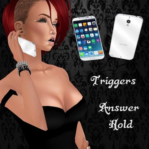 Female Galaxy Phone Right Hand Mesh