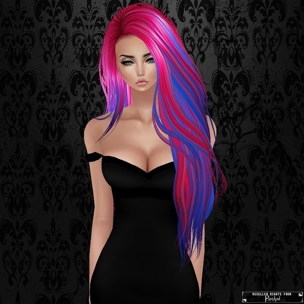 Hair Texture 01 / PNG.