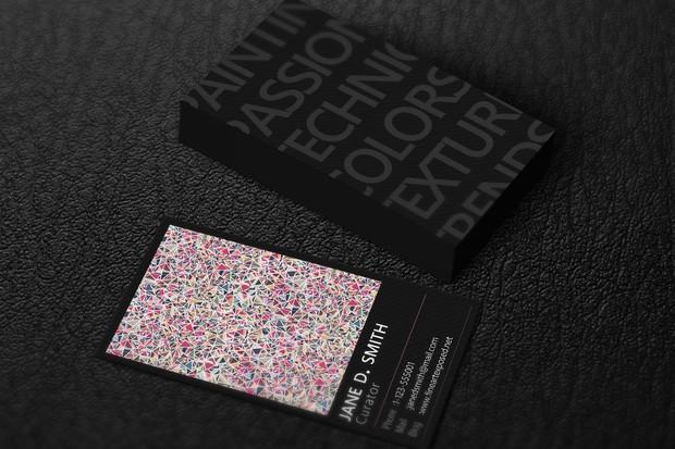 Fine art curator business card template miguel fine art curator business card template colourmoves