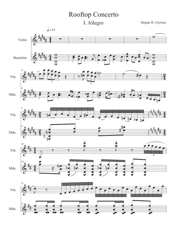 A Second Beginning for Violin Solo - PDF