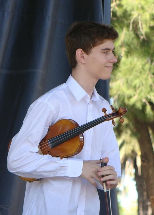 Genesis for Violin Solo by Stepan Grytsay