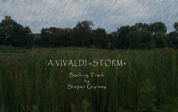 Vivaldi - Storm - Backing Track by Stepan Grytsay