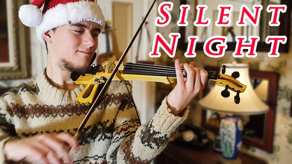 Silent Night - Violin Solo Cover by Stepan Grytsay