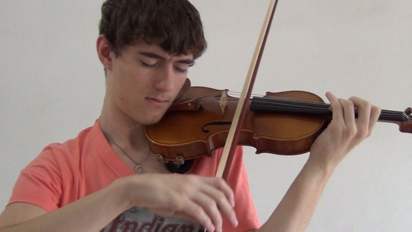 Intro to The End by Stepan Grytsay[Dubstep Violin]