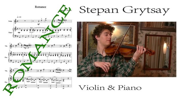 Romance for Violin and Piano - Score and Violin Part [2015] PDF