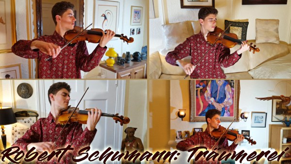 Robert Schumann: Träumerei [Arrangement for 4 Violins] (MP3)