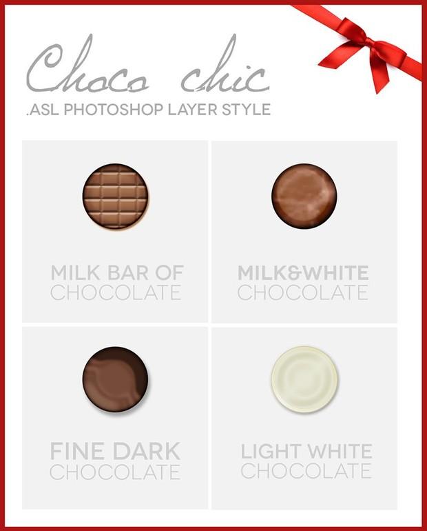 Chocolate psd style