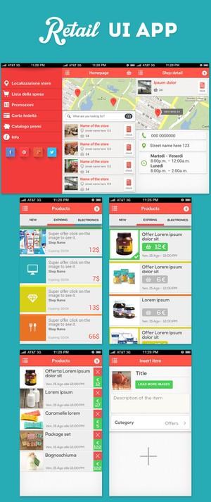 Retail App Ui design
