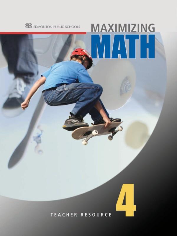 Maximizing Math Grade 4