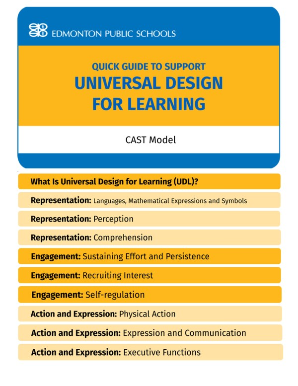 Universal Design for Learning Flipbook