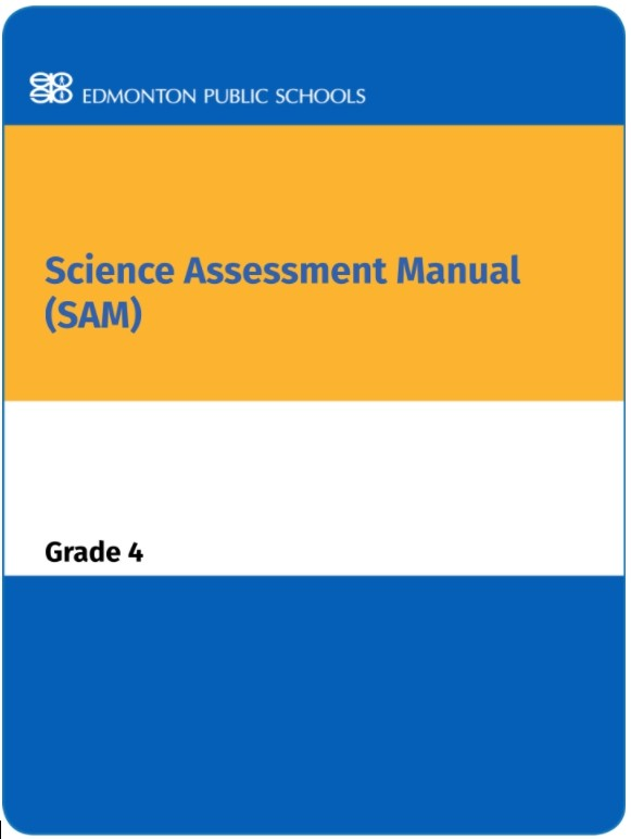 Grade 4 Science Assessment Manual - SAM