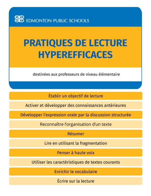 French Elementaire - Pratiques de lecture hyperefficaces - Guide