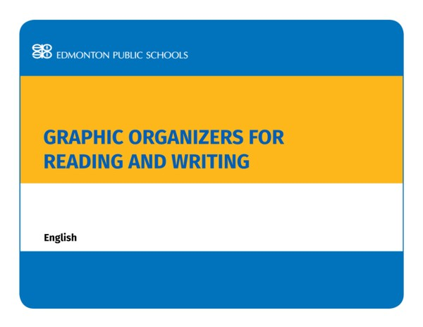 Graphic Organizers for Reading and Writing English