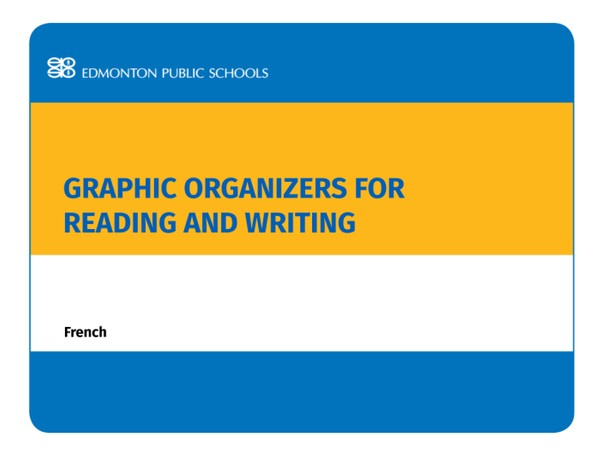 Graphic Organizers for Reading and Writing: French