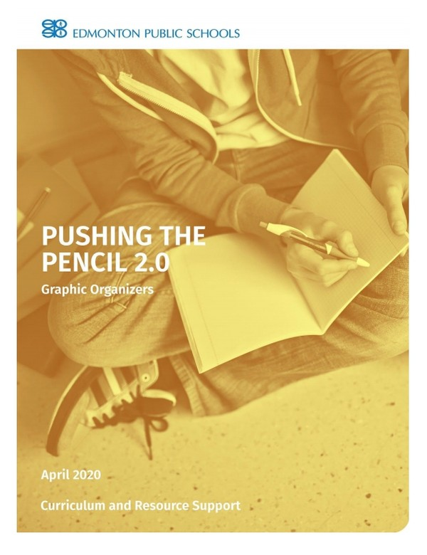 Pushing the Pencil 2.0 Graphic Organizers