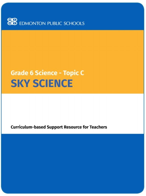 Grade 6 Science Topic C Sky Science