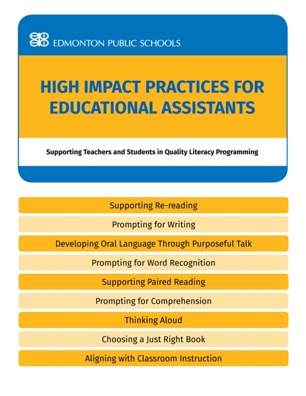 High Impact Practices for Educational Assistants - Flipbook