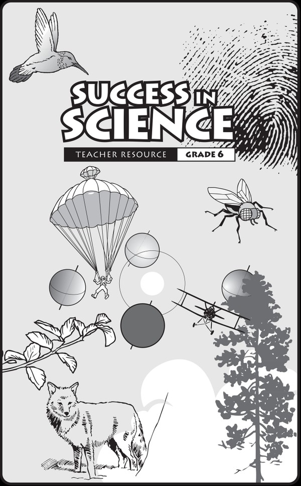 Science 6 Success in Science Teacher Guide and Student Workbooks English